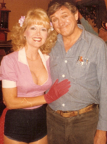Misty and George Lindsey (Goober)
