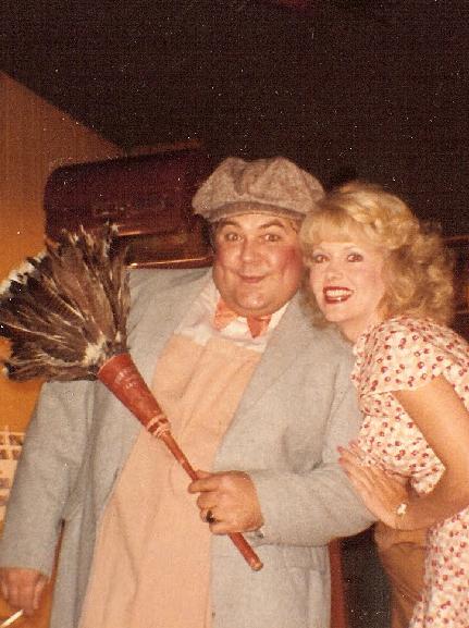 Misty Rowe with Gailard Sartain